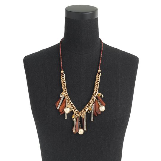 J.Crew Falling Leaves Necklace