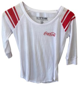 Chaser T Shirt white and red