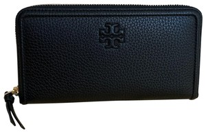 Tory Burch NWT 'Thea' Multi-Gusset Zip Leather Continental Wallet