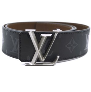 Louis Vuitton eclipse Mirage reversible 40mm LV classic logo initial Belt size 85 34
