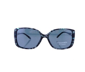 Tiffany & Co. TF4071-B 8129/3F Gray Blue Marble Sunglasses 57mm Italy