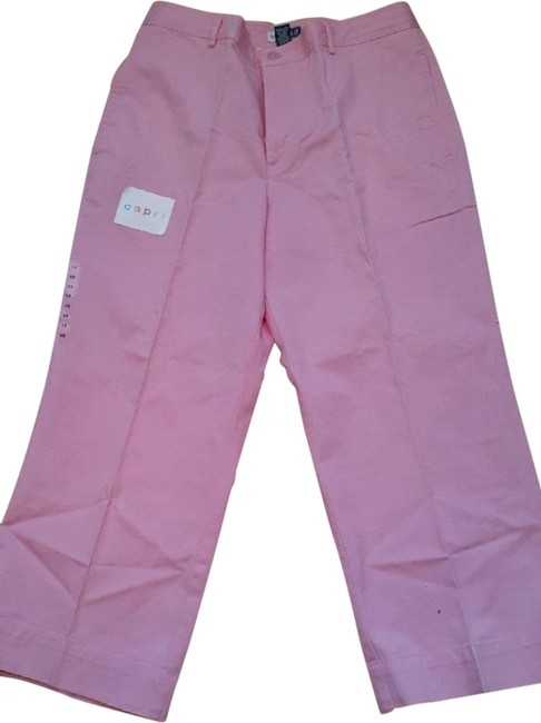 Item - Pink Retro Cut Straight Leg Jeans Size 34 (12, L)