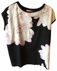 Ted Baker T Shirt Pink and black