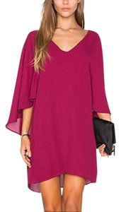 cupcakes and cashmere short dress Maroon on Tradesy