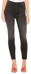 Mother High Waisted Looker Night Hawk 27 Skinny Jeans