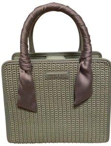 Charles & Keith Satchel in Green