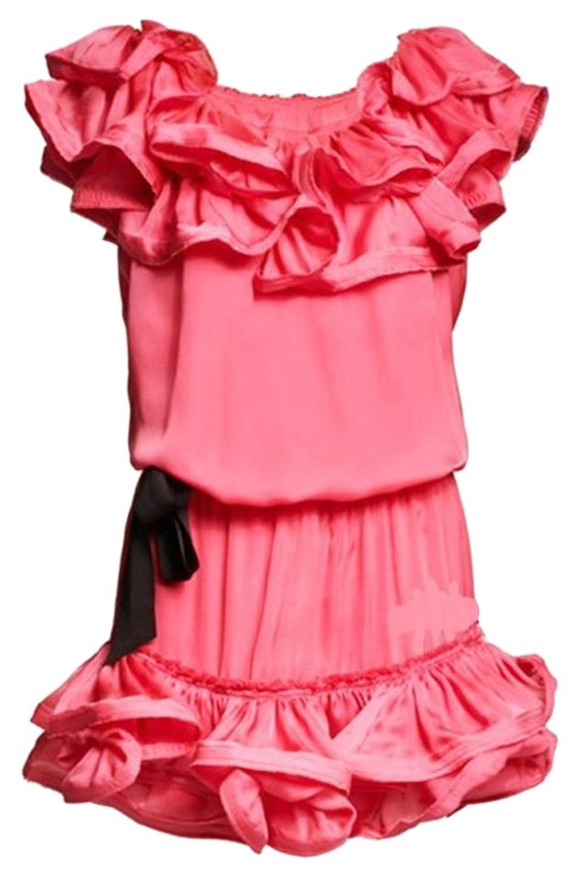 Lanvin Pink H&m Above Knee Cocktail Dress Size 6 (S) - Tradesy