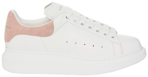 Alexander McQueen White and Pink Athletic