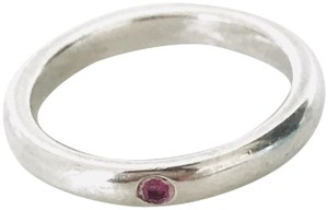 Tiffany & Co. TIFFANY & CO. Pink Sapphire Stacking Ring