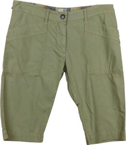NSF Twill Army Military Cinch Tabs Bermuda Shorts Green