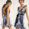 Free People Sequin Siren Mini Short Night Out Dress Size 2 (XS) Free People Sequin Siren Mini Short Night Out Dress Size 2 (XS) Image 2