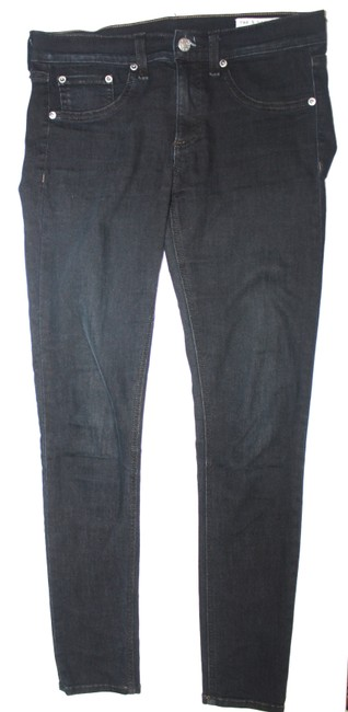 Item - Dark Denim Straight Leg Jeans Size 28 (4, S)