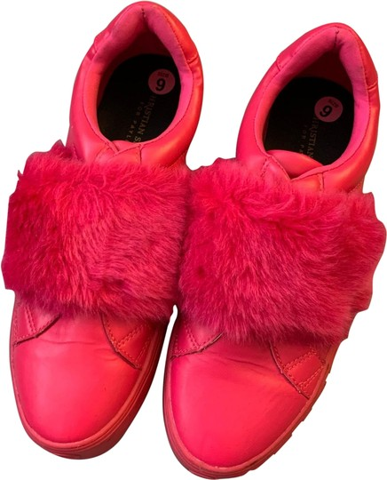 Christian Siriano Hot Pink Sneakers
