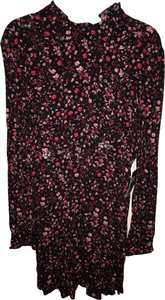 Express short dress red, pink, black on Tradesy