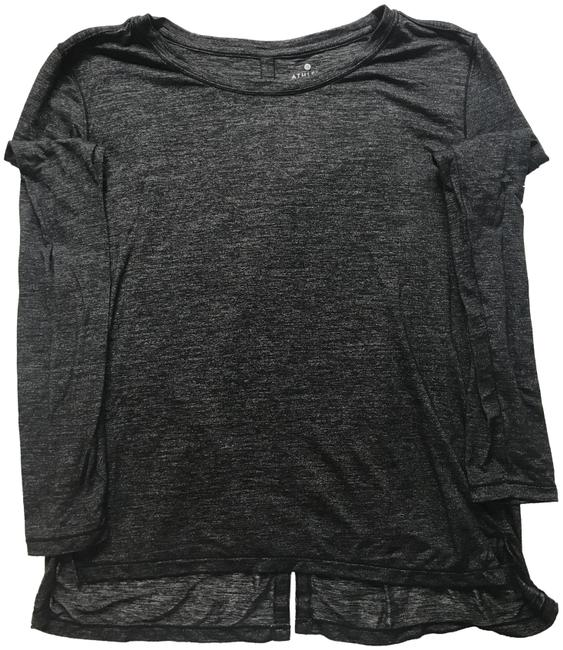 Item - Grey and Black Activewear Top Size 6 (S)
