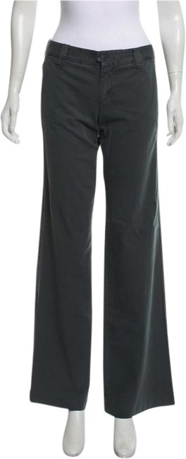 Item - Green Mid-rise Pants Size 4 (S, 27)