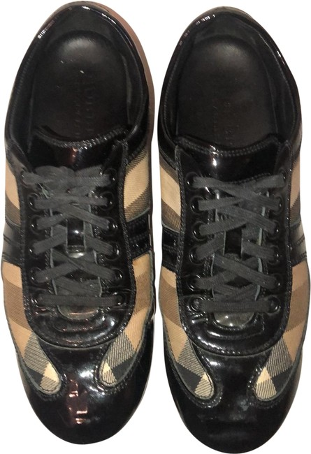 Burberry London Brown and Black Sneakers Size US 8 Regular (M, B) Burberry London Brown and Black Sneakers Size US 8 Regular (M, B) Image 1
