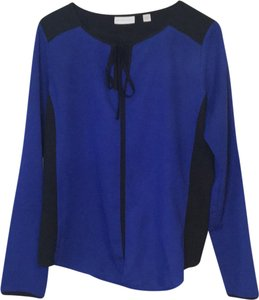 New York & Company Top royal blue