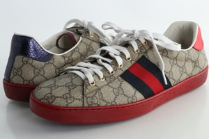 Gucci Multicolor Ace Gg Supreme Sneaker Shoes