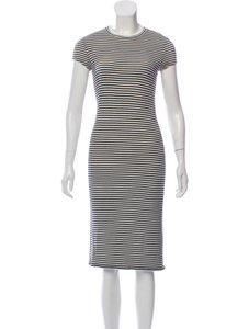 ATM Anthony Thomas Melillo short dress Black White Stripe on Tradesy