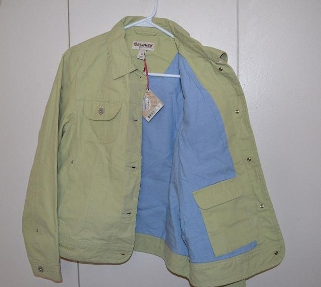 Dri Duck Like New Gently Used Lime Denim Free Shipping LIGHT GREEN Womens Jean Jacket