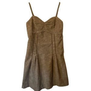 Matilda Jane short dress Brown Tan Flirty Funky Boho Hippie Festival on Tradesy