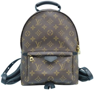 Louis Vuitton Lv Palm Spings Pm Monogram Canvas Backpack