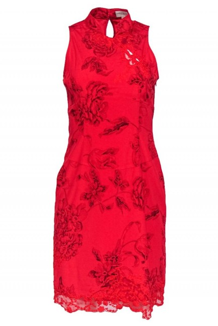 Item - Red Cocktail Dress Size 8 (M)