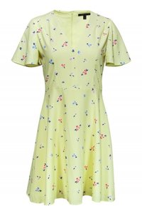 French Connection short dress yellow Day Floral on Tradesy