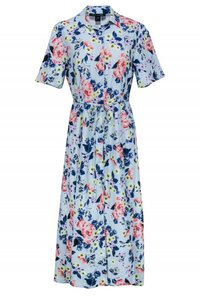 French Connection short dress blue Day Floral on Tradesy