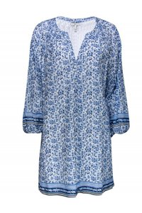 Joie short dress blue Day Floral on Tradesy
