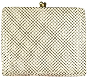 Whiting & Davis Whiting and Davis Ivory Metal Mesh Wallet Clutch