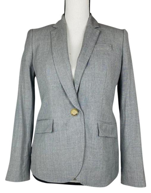 Item - Gray Campbell Travel One Button Blazer Size 4 (S)