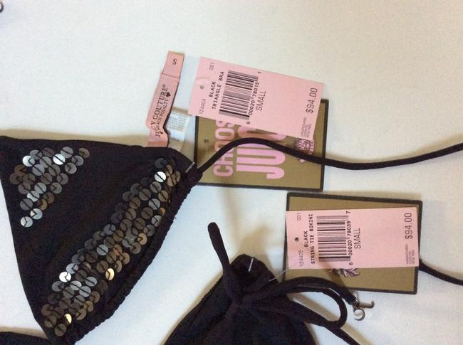 Juicy Couture Black sequin embellished Juicy Couture Bikini Brand New With Tags