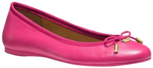 Coach New With Tags Dahlia Pink Flats