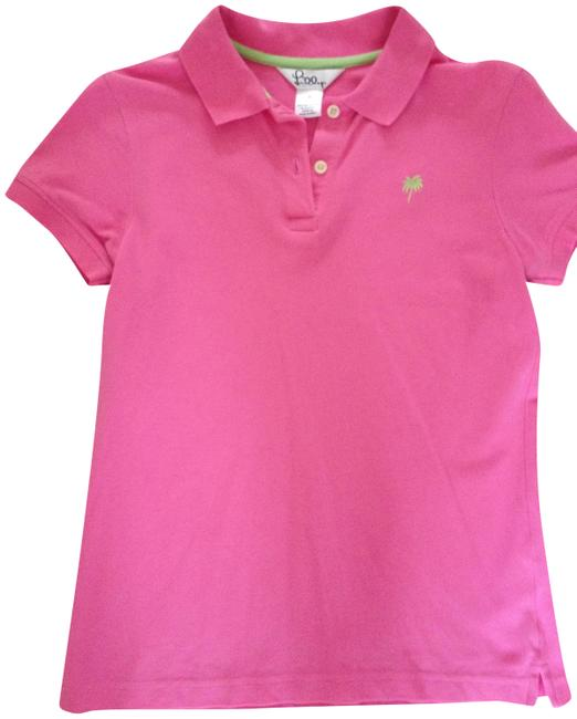 Item - Hot Pink Preppy Island Polo Tee Shirt Size 4 (S)
