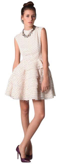 Item - Ivory Dash Short Night Out Dress Size 6 (S)