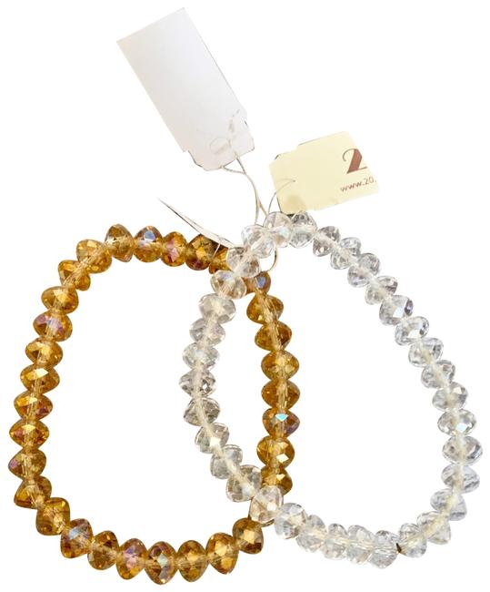 Item - White / Yellow Set Bracelet