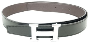 Hermès Like New Unisex Calf Box Constance X Reversible 32 mm 90 Buckle Belt C