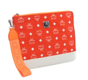 MCM Pouch Purse Ipad Case Tablet Cover Wristlet in Multicolor