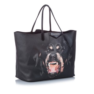 Givenchy Ff0gvtr005 Vintage Leather Tote in Black
