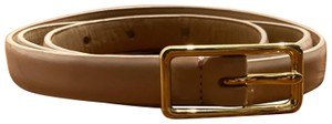 J.Crew patent leather skinny belt