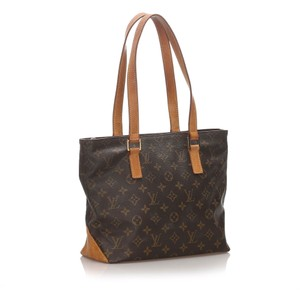 Louis Vuitton 0blvtr084 Vintage Leather Tote in Brown