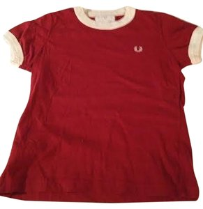 Fred Perry T Shirt Rust
