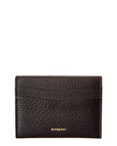 Burberry Burberry Grainy Leather Card Case
