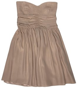 Parker Party Ruched Silk Dress