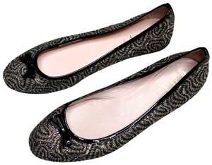 RED Valentino Fun Party Sequin Black Flats
