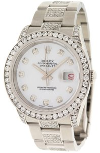 Rolex Rolex Oyster Perpetual Datejust 116200 Diamond Automatic Mens Watch