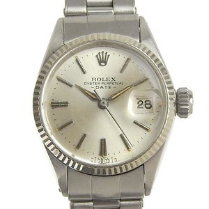 Rolex Genuine ROLEX Rolex Oyster Date Ladies Automat Watch 6517 10s