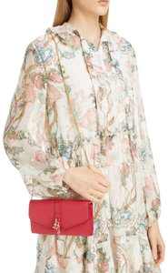 Item - Aby Woc Pink Leather Cross Body Bag